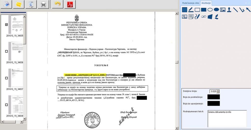 Anotacija elektronskih dokumenata